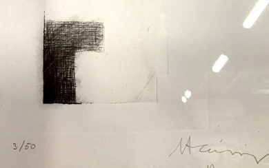 Eduardo Chillida Signed Ltd Ed Lithograph
