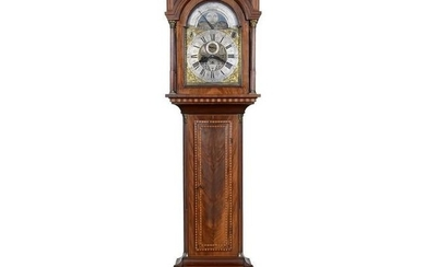 Frisian Musical Hall Clock by Abelius, 1796
