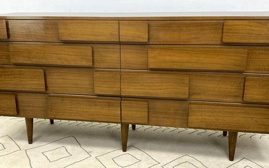 GIO PONTI Double Dresser Chest. Singer and Sons.