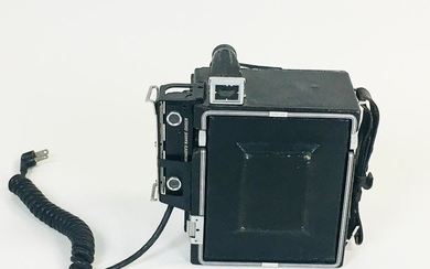 """Graflex """"Speed Graphic"""" 3 1/4 x 4 1/4 Camera, Rochester, New York, with 3 1/4 x 4 1/4-in. spring back, side Kalart range finder, and Gr"""