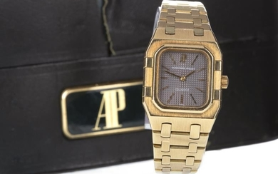 LADY'S AUDEMARS PIGUET WRIST WATCH, 1980 from papers, the...
