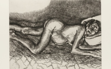 LUCIAN FREUD   BEFORE THE FOURTH (SEE FIGURA P. 26 FIG. 12; NOT IN HARTLEY)