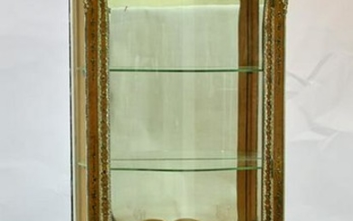 Late 19th/Early 20thC French Curio Cabinet