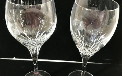 Strathmore Crystal White Wine Glasses On Sale
