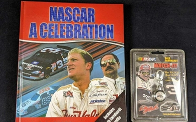 Nascar Book And Watch Lot