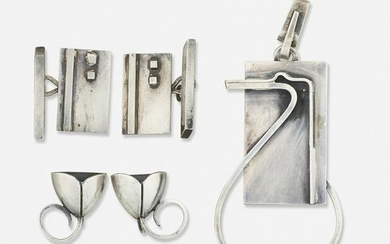 Paul Lobel, Modernist silver jewelry