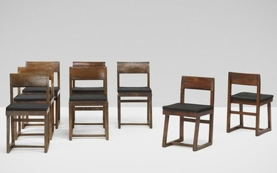 Pierre Jeanneret, chairs from Punjab University