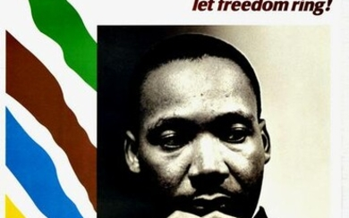 Propaganda Poster Martin Luther King Jr From Every