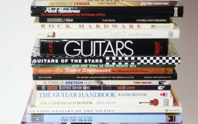 Qty Guitar reference books