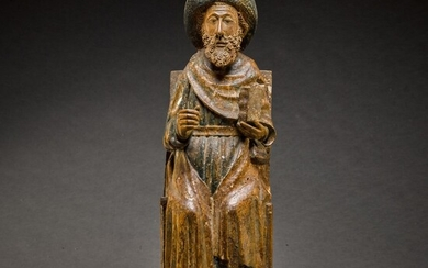 SOUTHERN NETHERLANDISH OR HISPANO-FLEMISH, LATE 15TH CENTURY | SAINT JAMES
