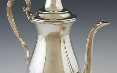 """Sterling Teapot by Fisher, #9457, in the """"Westbury"""""""