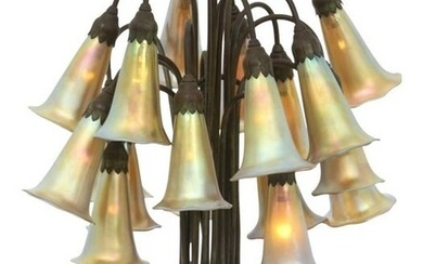 Tiffany Studios 18 Light Lily Lamp