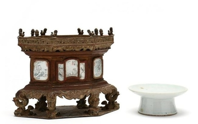 Two Antique Chinese Stands