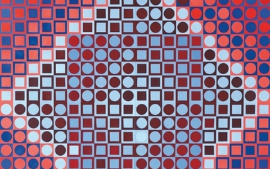 Victor Vasarely, Vasarely Planetary Folklore Participations No. 2, Edition William Wise