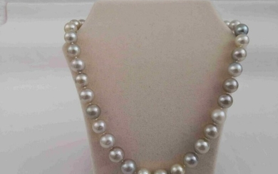 10-13 mm South Sea Pearls Neckace Round Shape & Natural