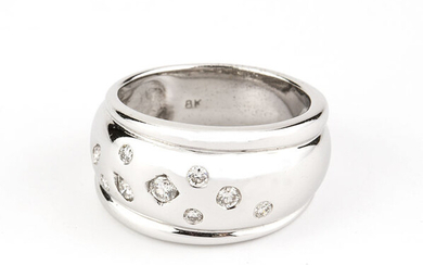 18 kt. White gold - Ring - 0.50 ct Diamond