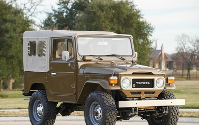 1980 Toyota FJ40 Land Cruiser Soft-Top