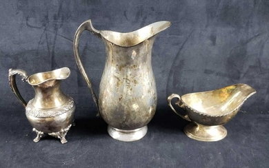 3 Silver Plated Pieces