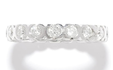 1.40 CARAT DIAMOND ETERNITY RING in 18ct white gold or