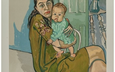 65083: Alice Neel (1900-1984) Mother and Child (Nancy a