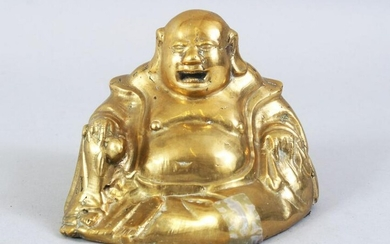 A GOOD 19TH / 20TH CENTURY CHINESE BRONZE FIGURE OF