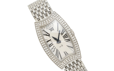 A Lady's Diamond and Stainless Steel Wristwatch, Bedat & Co.