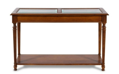 A Neoclassical Style Console Table