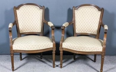 A Pair of Early 20th Century French Walnut Open...