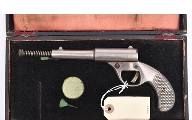 """A pre-1933 .177"""" Dolla pop out air pistol, 9½"""" overall with ..."""