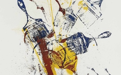 Arman, d.i. Fernandez Arman (1928-2005), composition with brushes...
