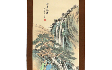 CONTEMPORY CHINESE SCROLL PAINTING
