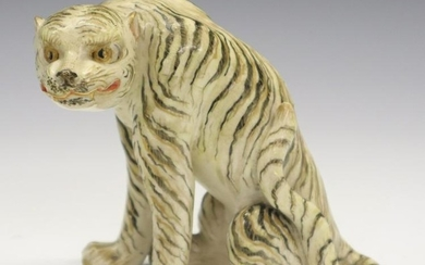 Chinese Porcelain Tiger