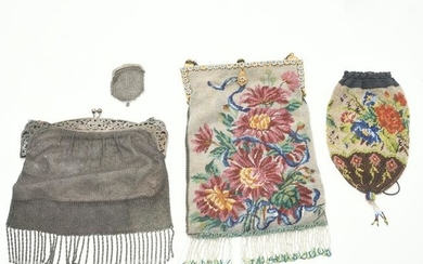 Collection of Four Vintage Purses.