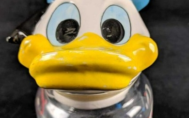 DIsney Vintage Donald Duck Candy Jar