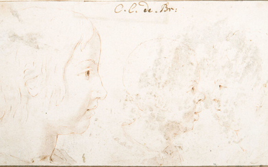 Dutch School, 17th Century, Study of Profiles