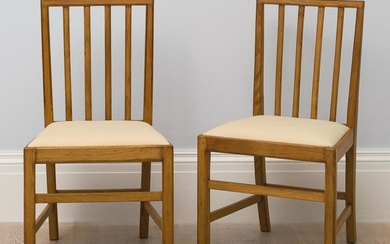 EDWARD BARNSLEY   SET OF TEN CHAIRS AND TWO ARMCHAIRS