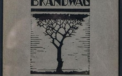 FOUR ILLUSTRATED MAGAZINE COVERS, INCLUDING BRANDWAG