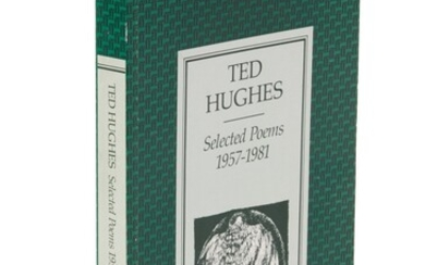 HUGHES | Selected Poems 1957-1981, inscribed