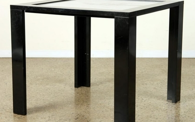 ITALIAN MARBLE TOP TABLE BY GAVINA C.1980