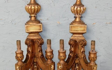 Pair of French Louis XVI style sconces
