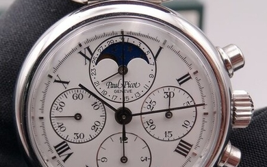 Paul Picot - Geneve Manual Moonphase Chronograph - Ref. 4973.5104 - Unisex - 2020
