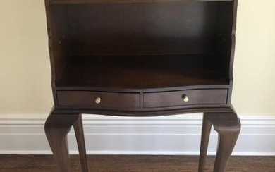 Queen Anne Style Mahogany Secretary Desk
