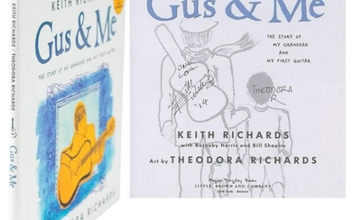 Rolling Stones: Keith Richards Signed Book