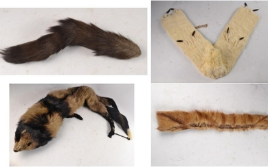 Selection of top quality furs to include an Ermine stole 114...