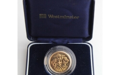 """Sovereign 2005 BU in a """"Westminster"""" box"""