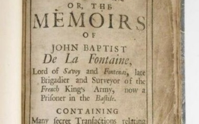 The French Spy, 1700