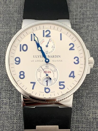 Ulysse Nardin - Maxi Marine Chronometer Excellent Condition - 263-66 - Men - 2011-present
