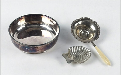 A Tiffany & Company Makers Sterling Silver Shell Form