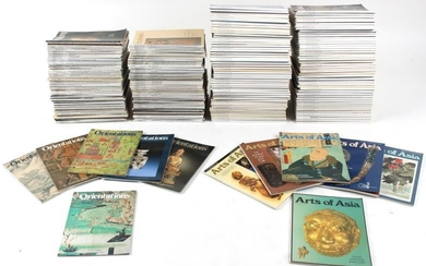 A large quantity of 'Arts of Asia' and 'Orientations'...