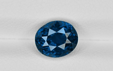 Blue Sapphire, 3.05ct, Mined in Madagascar, Certified